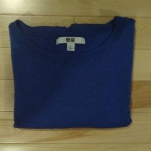 Uniqlo royal blue wool sweater